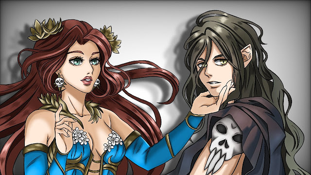 Hades and Persephone (free anime images)