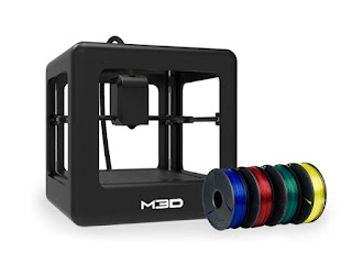 M3D Printer & 4 Reels of Filament Bundle