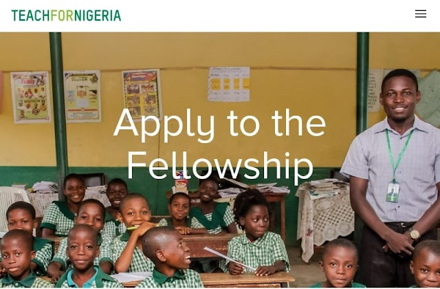 Teach For Nigeria Fellowship Program 2020 ( Full-Time Paid)
