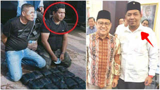 Politikus PKB Usman Sulaiman jadi Gembong Narkoba, Dibekuk BNN Bawa Sabu 25 Kg