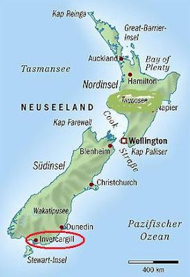 Erste Wappen Neuseeland
