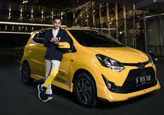 Toyota Agya Situ Daun Bogor