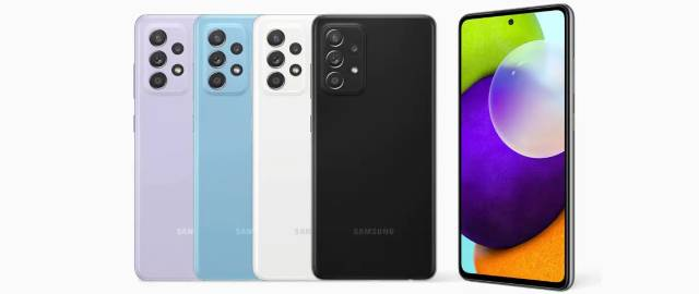 Samsung Galaxy A52s 5G Colors