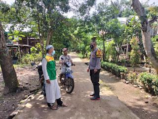 Lakukan Sambang Ke warga Binaan, Bhabinkamtibmas Polsek Enrekang Bripka Eko Sampaikan Himbauan Kamtibmas