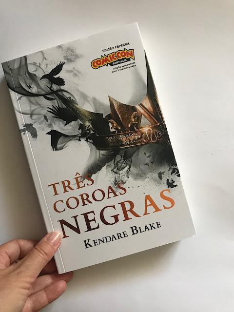 Três Coroas Negras, Kendare Blake