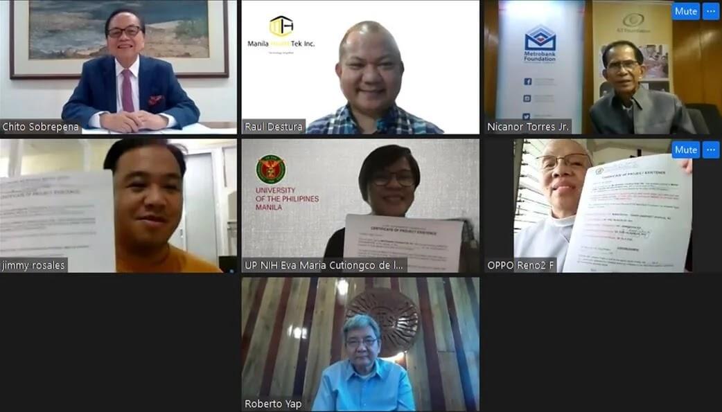 Metrobank and Manila Healthtek Ink Partnership To Distribute UP-Developed COVID-19 PCR Kits