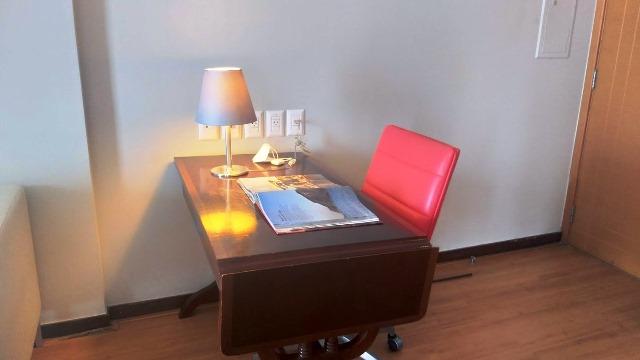 No Hotel Pestana Rio Atlântica você tem um home office só pra você