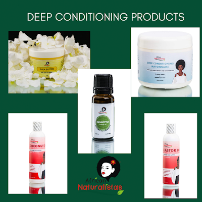 Some deep conditioning products