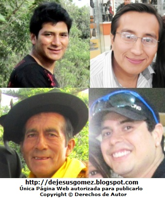 Foto de sonrisas de hombres. Sonrisas tomadas por Jesus Gómez