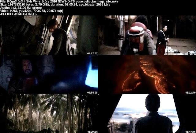 Descargar Rogue One: A Star Wars Story Subtitulado por MEGA.