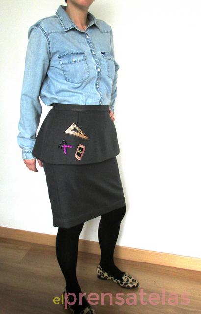 Peplum skirt pattern