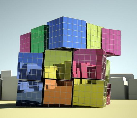 большой «Кубик Рубика»