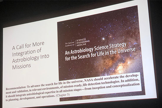 NAS study calls for more search for life and astrobiology in NASA mission stages  (Source: Ray Arvidson, Washington U in St. Louis)