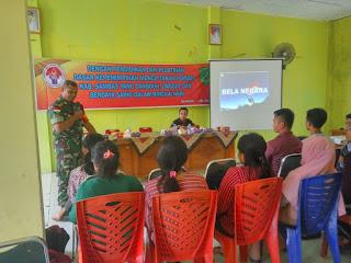 Siapkan Generasi, TNI Bentuk Karakter dan Kepribadian Pemuda Pebatasan