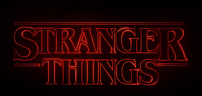 Logo Serie Stranger Things