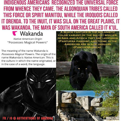wakanda means possesses magical powers native american language