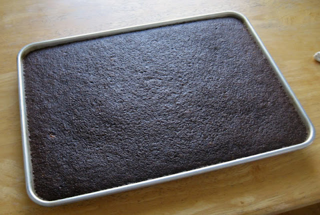 Texas Chocolate Sheet Cake by freshfromthe.com