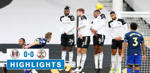 Fulham vs Southampton – Highlights