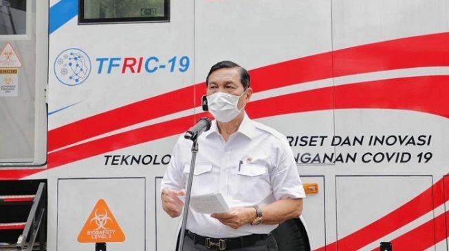 Tak Takut Backingan Penjual Obat Covid-19 Harga Tinggi, Opung Luhut: Saya Gak Peduli Dia Siapa, Jangan Main-main!