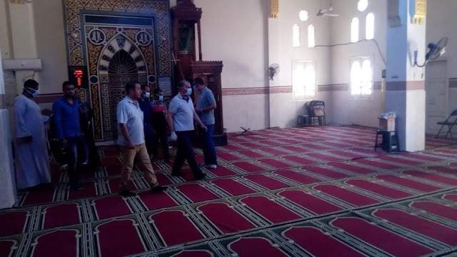 عودة صلاة الجمعة غدا بـ 6399 مسجد بسوهاج
