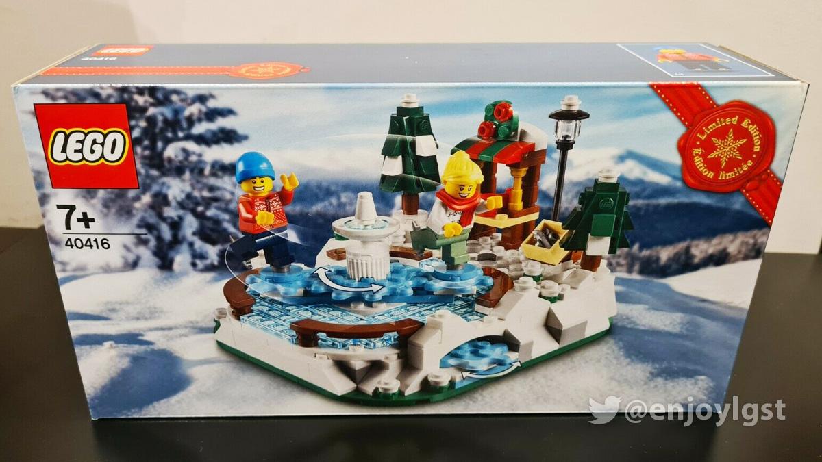 レゴ 40416 アイススケート・リンク:クリスマスの購入者プレゼント?:新製品・価格情報(LEGO)