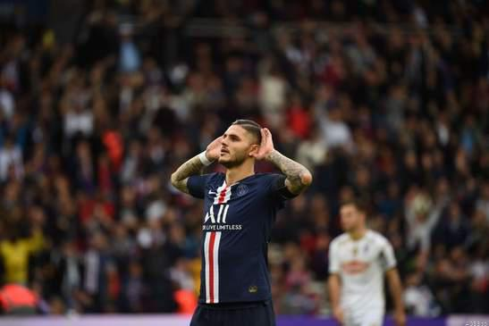 Ligue 1: Icardi Stars for PSG in Angers Rout