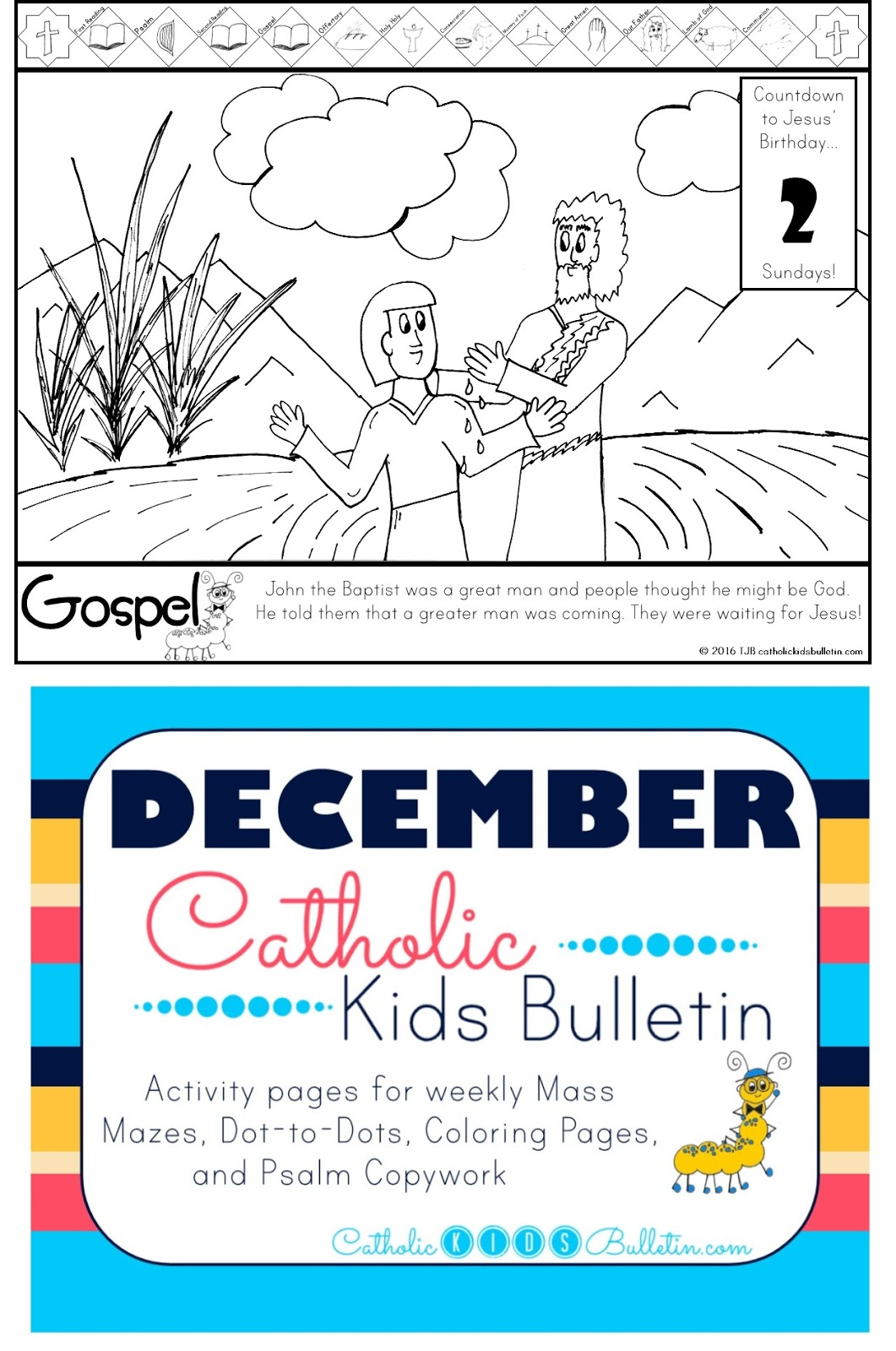 catholic kids december catholic kids bulletin