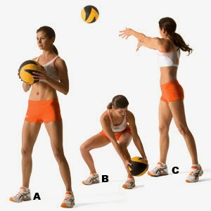 Lanzamiento de pelota pesada