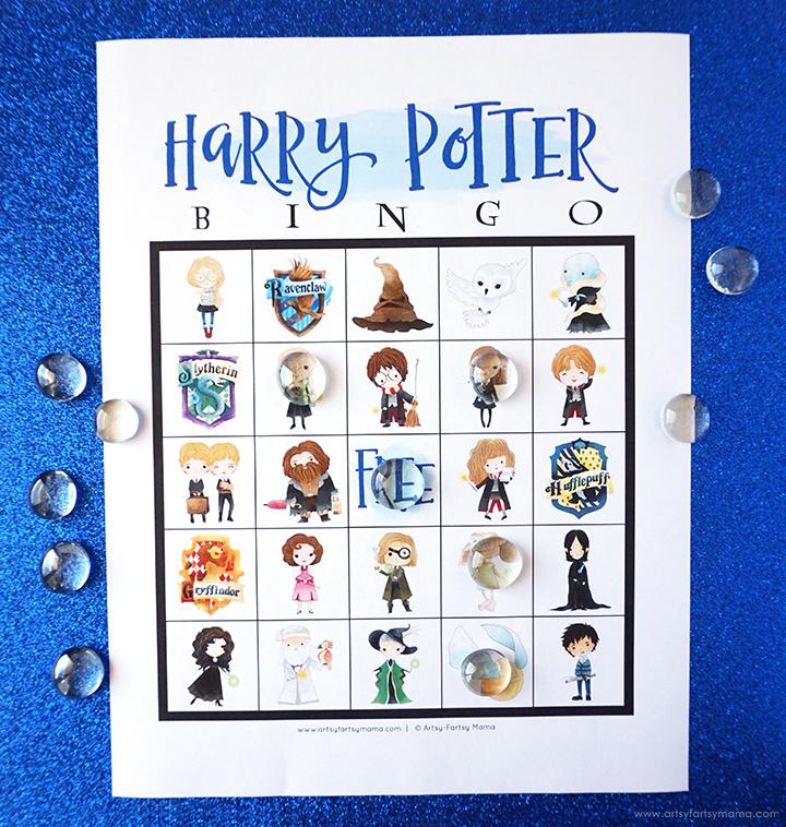 Free Printable Harry Potter Bingo Set
