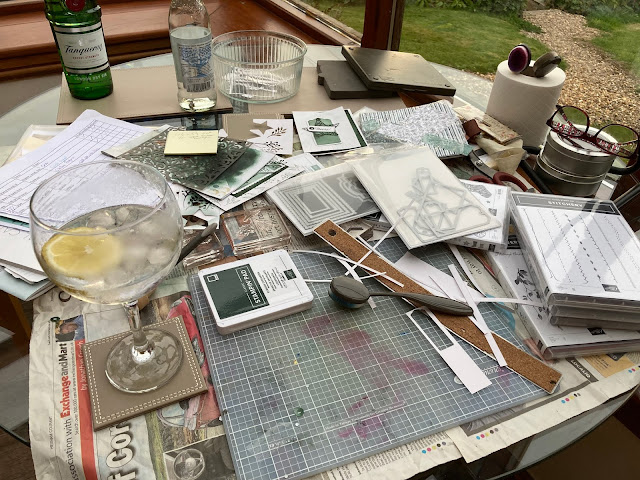 Crafting On Holiday