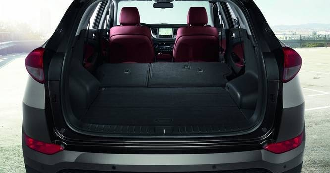 2017 hyundai tucson cargo space pictures and photos new 2016 crossover suv images - Small suv cargo space property ...
