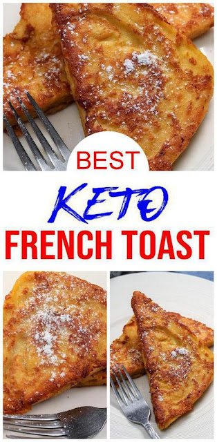 BEST Keto French Toast – Low Carb Keto French Toast Recipe