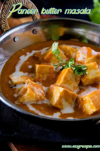 Paneer butter masala a delicious paneer recipe restaurant style