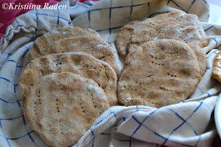 Barley flatbreads