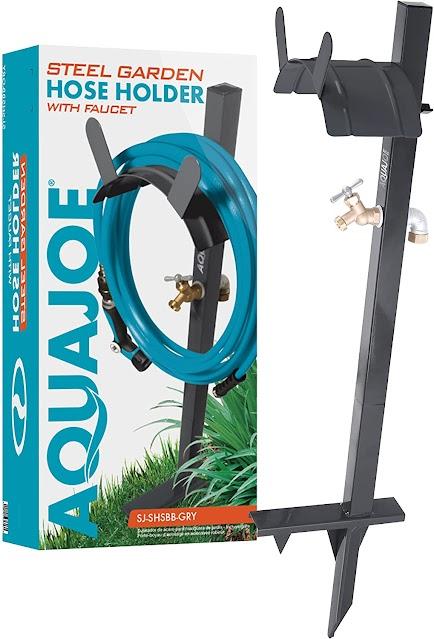 Aqua Joe hose and spigot extender