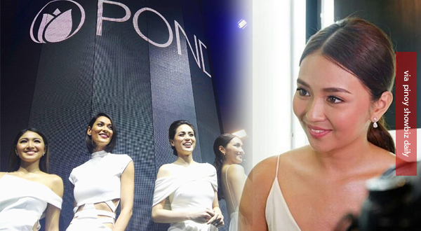 Kathryn Bernardo joins Nadine Lustre, Heart Evangelista, and Toni Gonzaga in Pond's