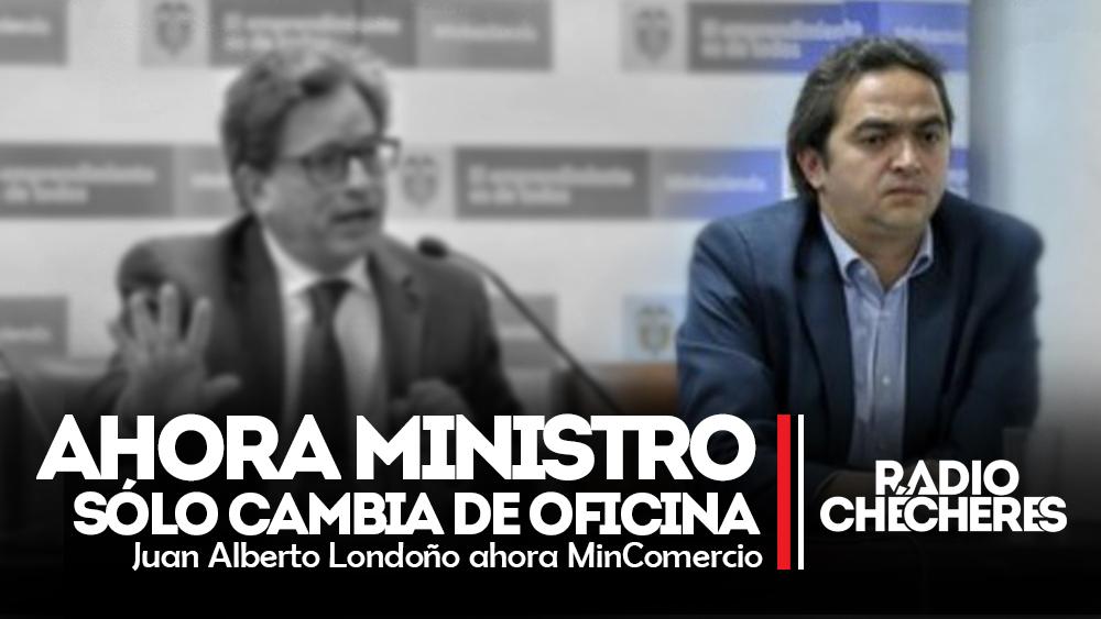Viceministro (de Carrasquilla) que renunció, ahora será el nuevo ministro de Comercio