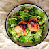 培根干貝沙拉 Scallop and Bacon Baby Cabbage Salad