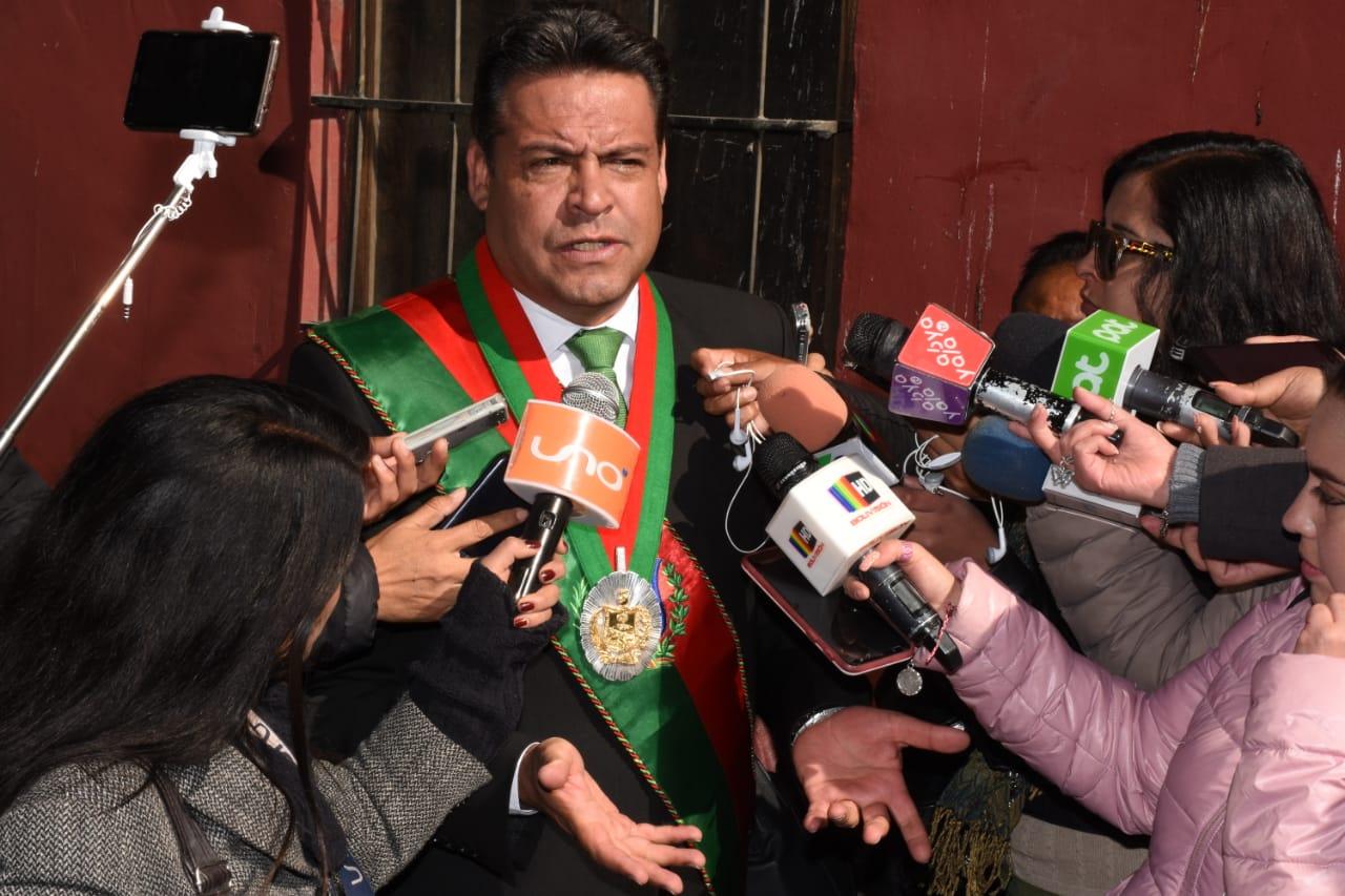 Alcalde paceño afirma que choferes actúan de forma partidaria contra la ciudad / AMN