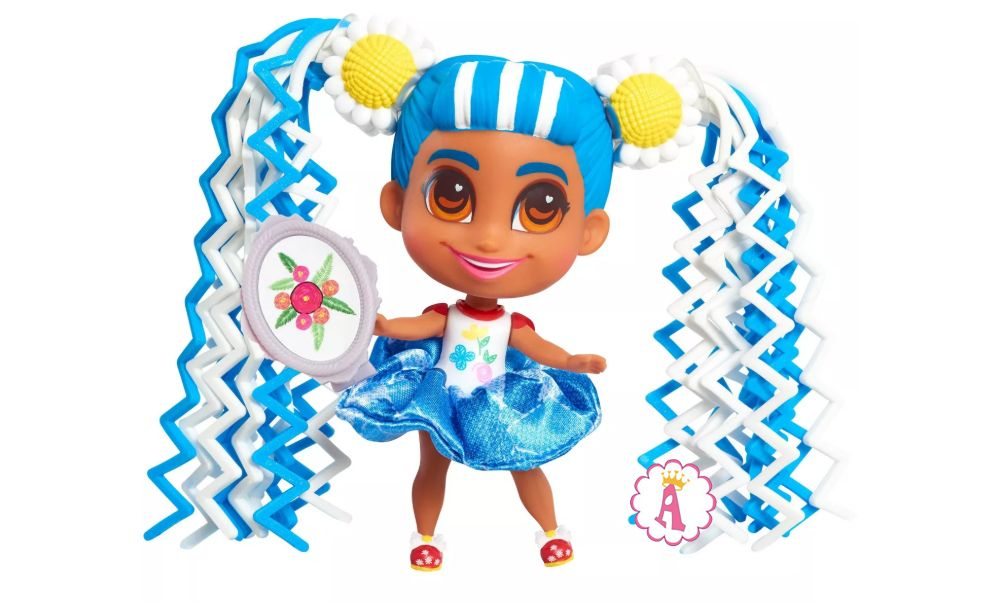 Игрушка Violet Hairdorables Shortcuts Jelly Hair маленькая кукла 2020 года