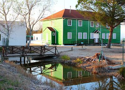 Casa de Fustas en el Delta del Ebro