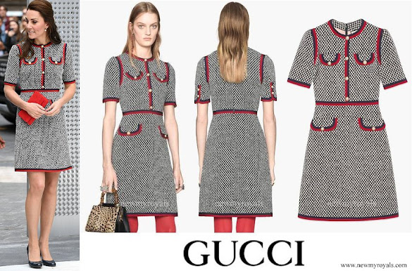 Kate Middleton wore GUCCI tweed dress