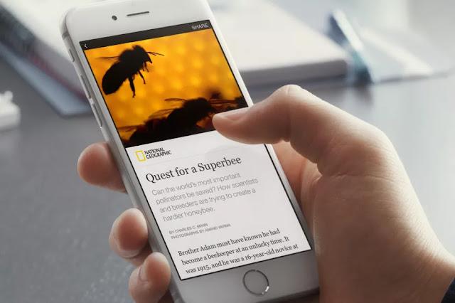 Facebook Instan Artikel saingan baru Google AMP dan Apple News