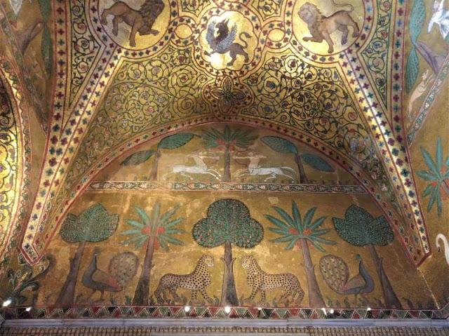 Mosaici Sala di Re Ruggero II