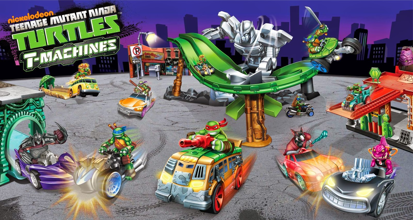 "NickALive!: Nickelodeon's ""Teenage Mutant Ninja Turtles ...Nickelodeon Ninja Turtles Toys"