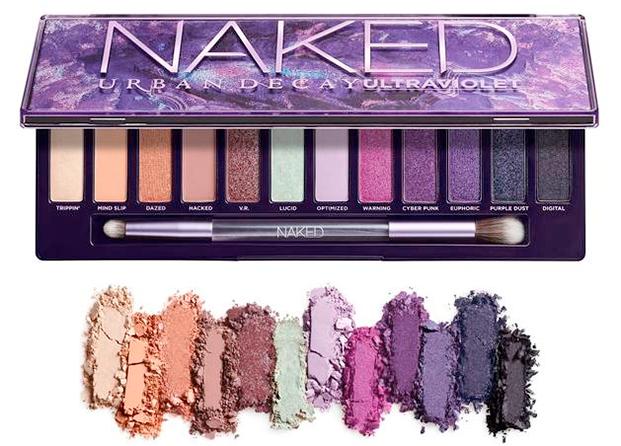 Nueva Naked Ultraviolet de Urban Decay, una verdadera oda al morado + swatches