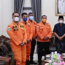 Kunjungan Kepala Basarnas Provinsi Jambi Disambut Bupati Anwar Sadat