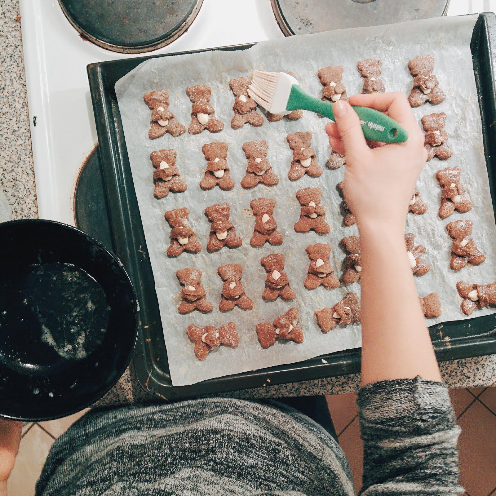 Como fazer biscoito de amêndoas