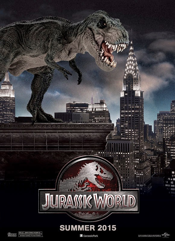 Are the 'jurassic world' dinosaurs all cgi? The new movie's.