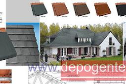 Spesifikasi dan Harga Genteng Metal Sakura roof dan Surya roof Type Classic